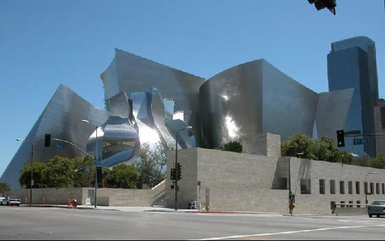 a curmudgeon's appreciation of the walt disney concert hall, with dog