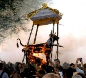 bali cremation