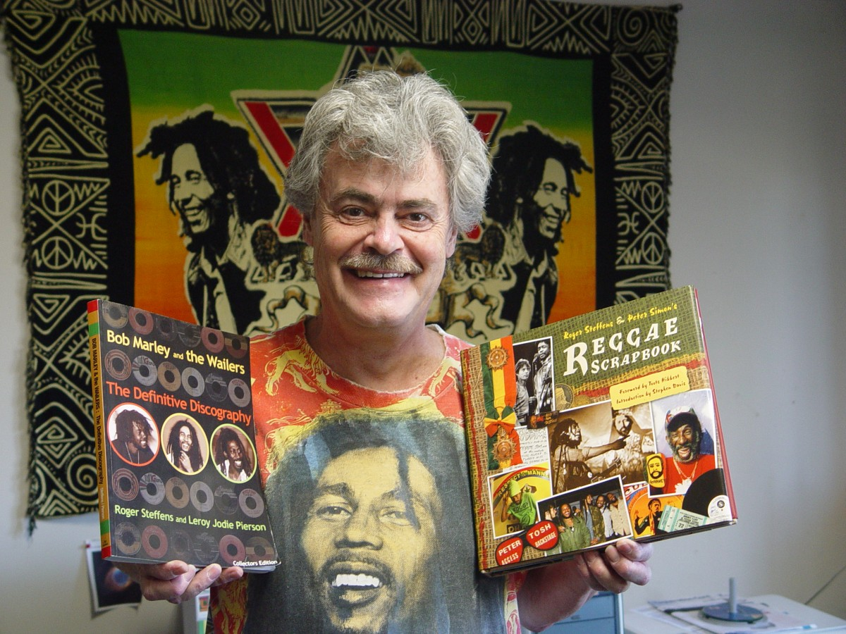 "Roger Steffens, Reggae Encyclopedist and ""Family Acid"" Photographer"